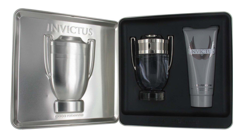 Paco Rabanne Invictus EDT 100ml  Body Shampoo 100ml Gift Set