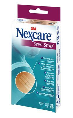 Eye Allergy Drops >> Nexcare Steri-Strip - 8 Pack | Chemist 4 U