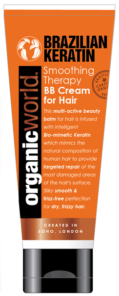 Organic World Smoothing Therapy BB Cream For Hair 100ml