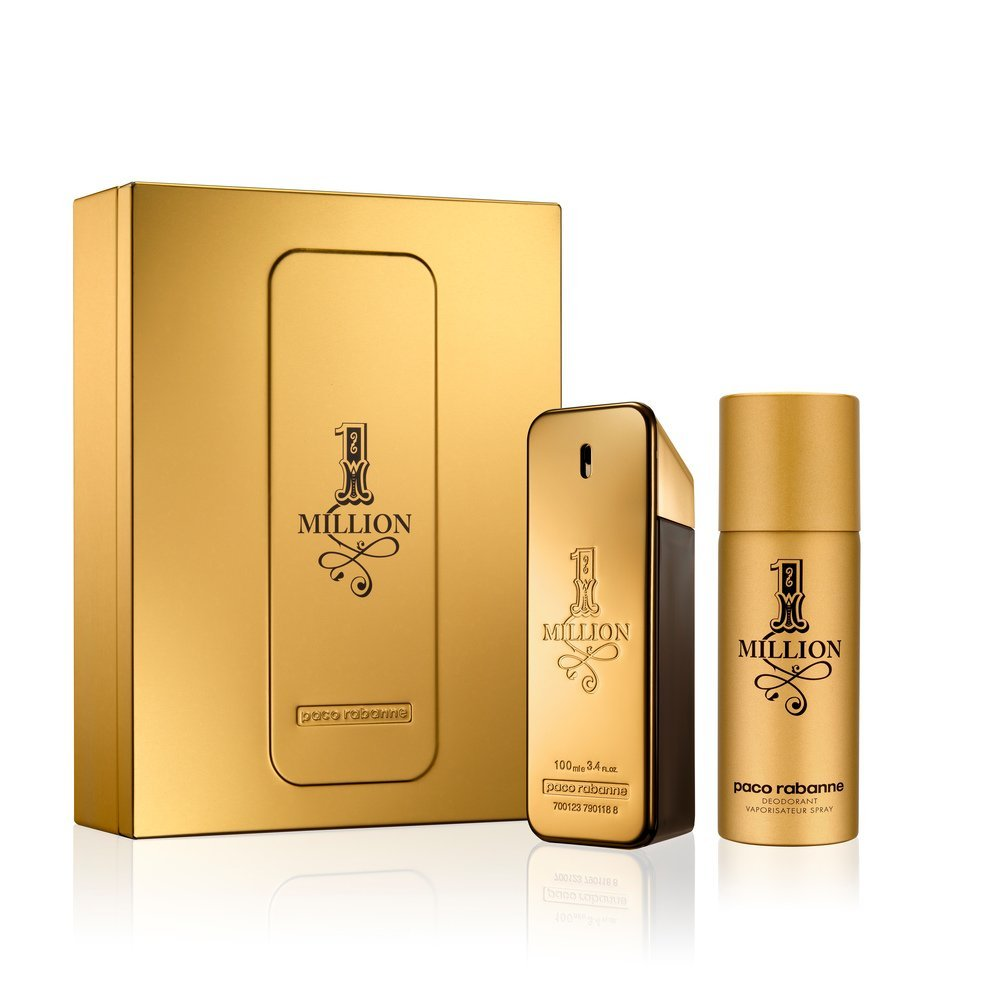 Paco Rabanne 1 Million M EDT 100ml  Deodorant Spray 150ml Set