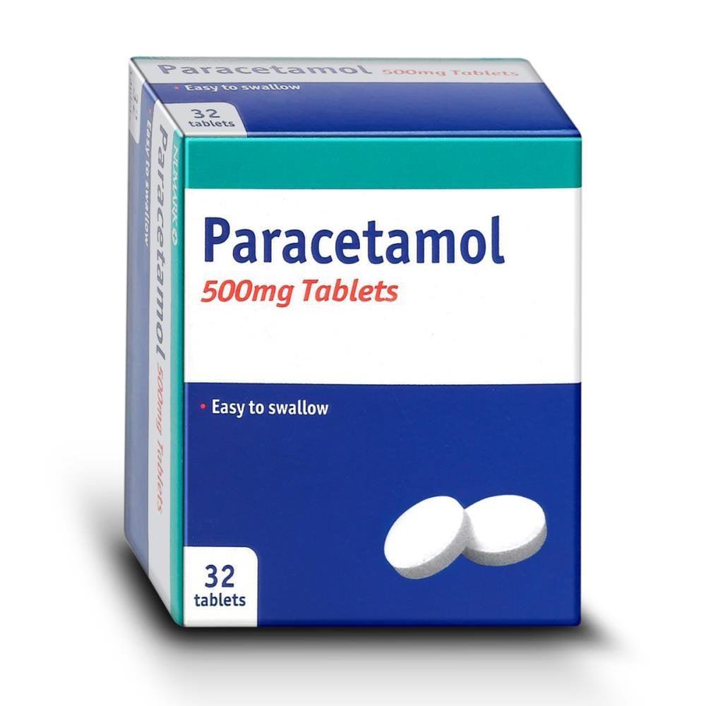 Paracetamol Tablets 500mg 32 Tablets Chemist 4 U