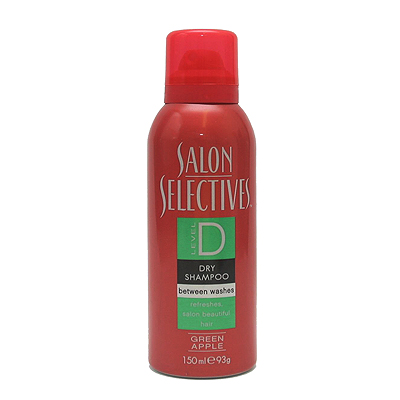 Salon Selectives Green Apple Scented Dry Shampoo 150ml
