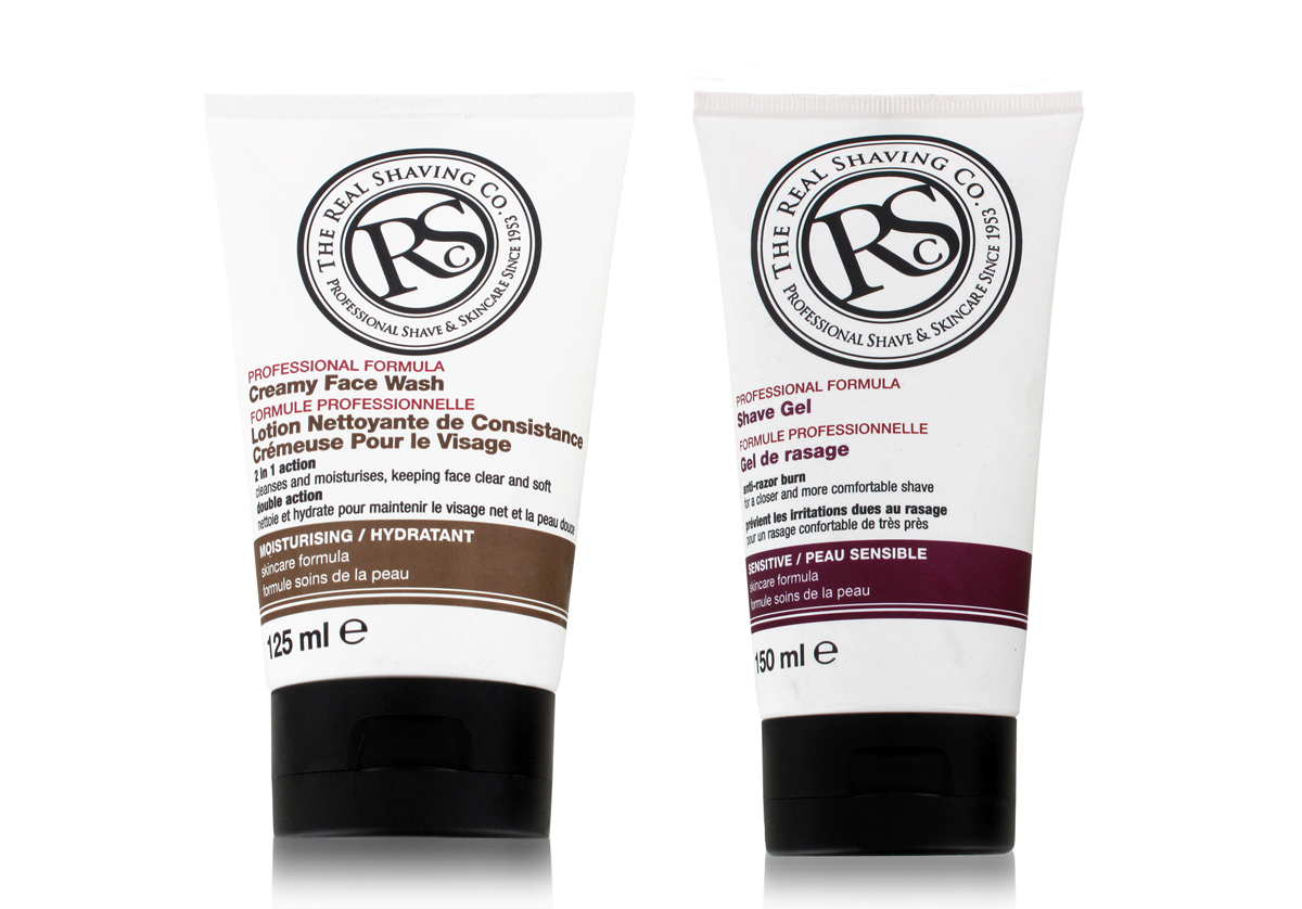 The Real Shaving Co Facial Care Kit Wash and Shave