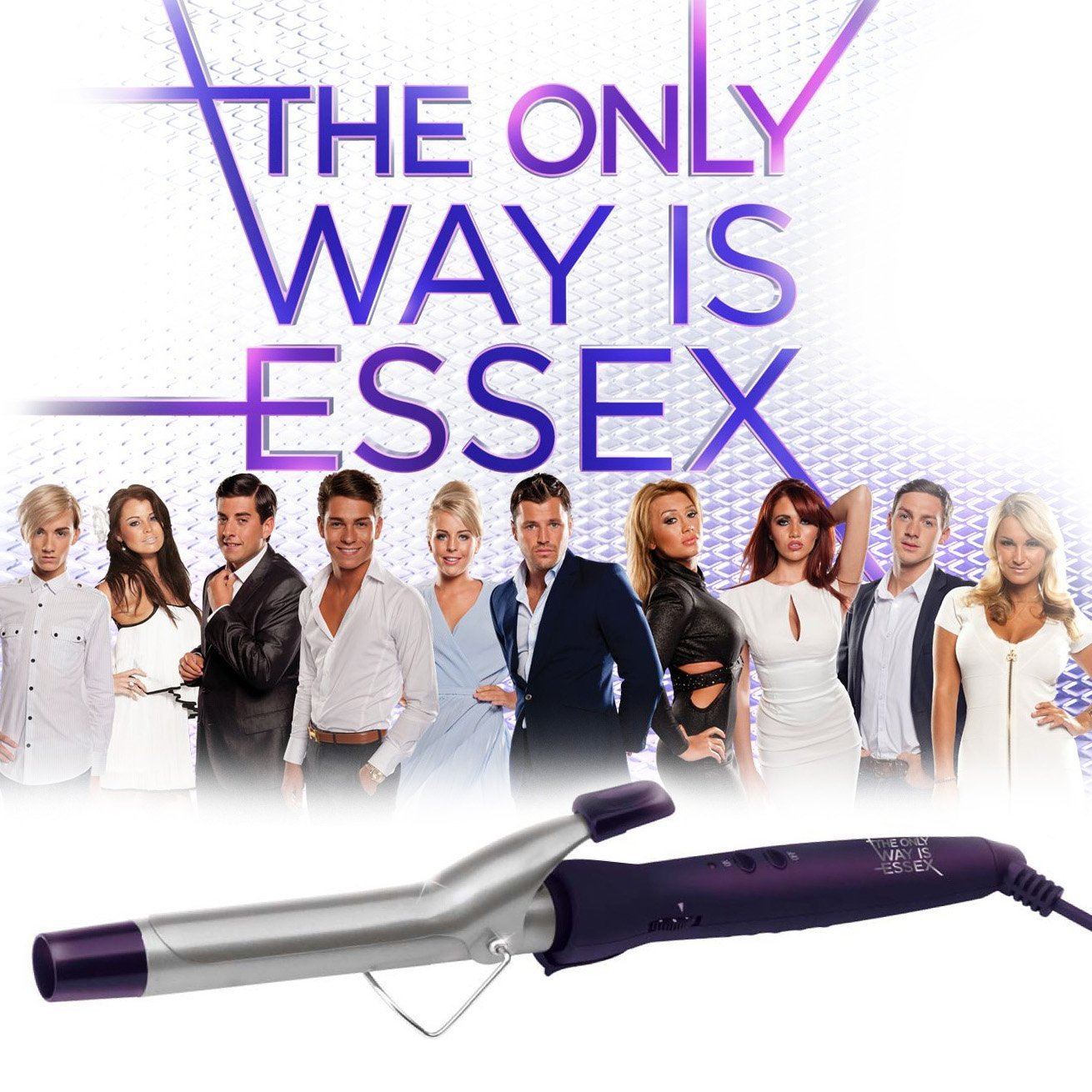 The Only Way Is Essex Dual Voltage Ceramic 25mm Styling Curling Tong