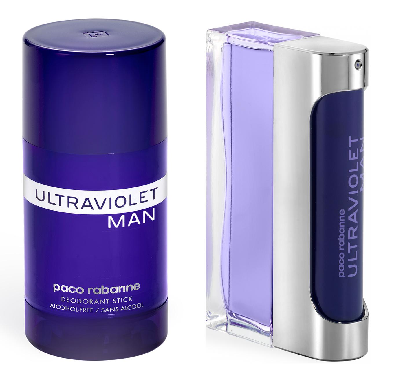Paco Rabanne Ultraviolet Man EDT 100ml  Deodorant Stick 75ml
