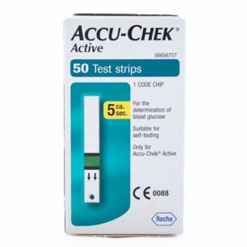 Accu-Chek Active Blood Glucose Test Strips 50 Strips