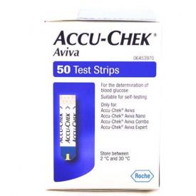 Accu-Chek Aviva Test Strips - Pack of 50