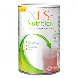 XLS Nutrition Strawberry Flavour Shake 400g