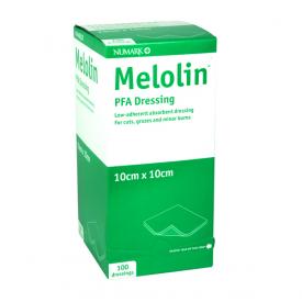 Numark Melolin PFA Dressing 10cm x 10CM 100 Pack