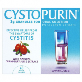Cystopurin 3g Granules With Natural Cranberry Juice Extract – 6 Sachets
