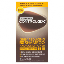 Just For Men Control GX 2-in-1 Shampoo and Conditioner, 147 ml