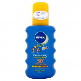 Nivea Sun Moisturising Sun Spray SPF50+ - 200ml