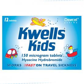 Kwells for Kids Travel Sickness - 12 Tablets