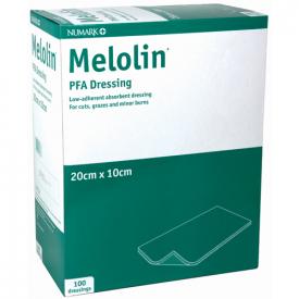 Numark Melolin PFA Dressing 20cm x 10CM 100 Pack