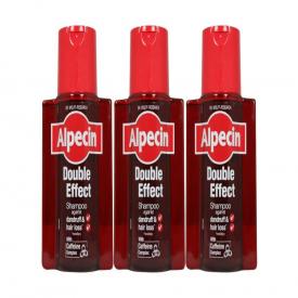 Alpecin Double Effect Shampoo 200ml - Pack of 3
