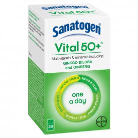Sanatogen Vital 50+ - 30 Tablets