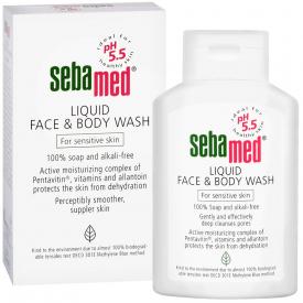 Sebamed Liquid Face And Body Wash - 200ml