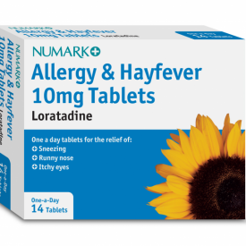Numark One-A-Day Loratadine Allergy Tablets 10mg - 14 Tablets