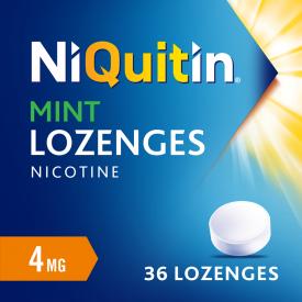 Niquitin 4mg Mint Lozenges - 36 Lozenges
