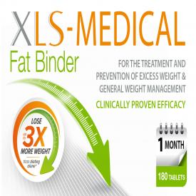 XLS-Medical Fat Binder Tablets - 180 Tablets