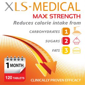 XLS Medical Max Strength - 120 Tablets