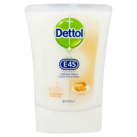 Dettol No-Touch Refill Anti-Bacterial Hand Wash E45 Honey - 250ml