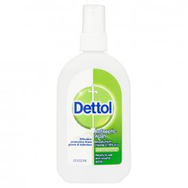 Dettol Antiseptic Wash Wound Spray - 100ml
