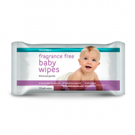 Numark Baby Wipes Fragrance Free - 72 Wipes