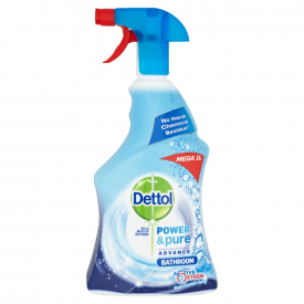 Dettol Power & Pure Bathroom Cleaning Spray - 1 Litre