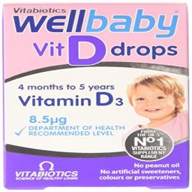 Wellbaby Vitamin D Drops - 30ml