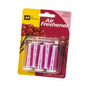 AA Very Berry Air Freshener 5 Clip-Ons