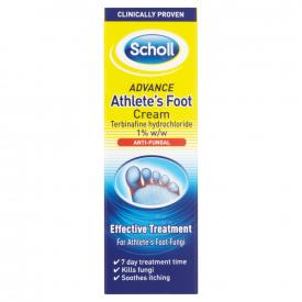 Scholl Advance Athlete's Foot Cream - 15g