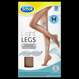 Scholl Light Legs Tights 20 Denier Nude - Medium