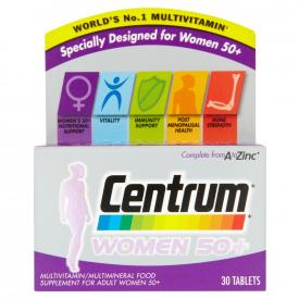 Centrum Women 50+ - 30 Tablets
