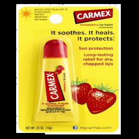 Carmex Strawberry Lip Balm Tube - 10g