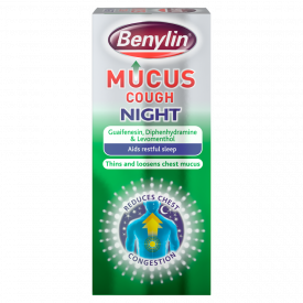 Benylin Mucus Cough Relief Night Syrup – 150ml