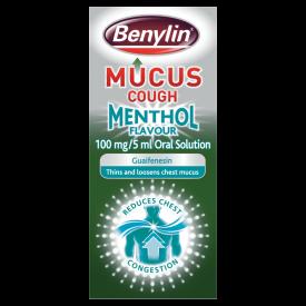 Benylin Mucus Cough Menthol Flavour 150ml