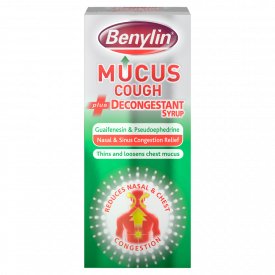 Benylin Mucus Cough With Decongestant Syrup – 100ml