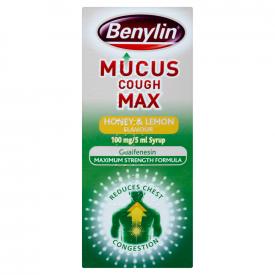 Benylin Mucus Cough Max Honey & Lemon - 300ml