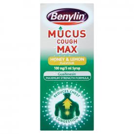 Benylin Mucus Cough Max Honey & Lemon - 150ml
