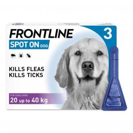 FRONTLINE Spot On Flea Treatment Large Dog - 3 Pipettes