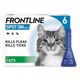FRONTLINE Spot On Flea Treatment For Cat - 6 Pipettes