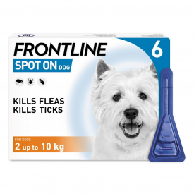 FRONTLINE Spot On Flea Treatment Small Dog - 6 Pipettes
