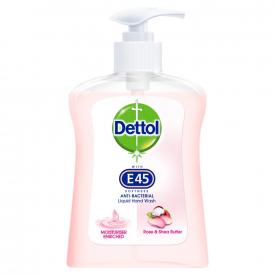 Dettol Anti-Bacterial Liquid Hand Wash Rose & Shea Butter - 250ml