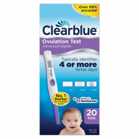 Clearblue Ovulation Test Kit With Hormone Indicator - 20 Test Pack