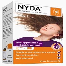 Nyda Head Lice Treatment Pump Spray And Comb – 50ml
