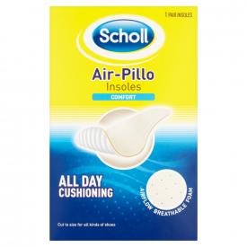 Scholl Air-Pillo Comfort Insoles - 1 Pair