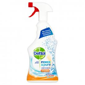 Dettol Kitchen Cleaner Spray Power & Pure - 750ml