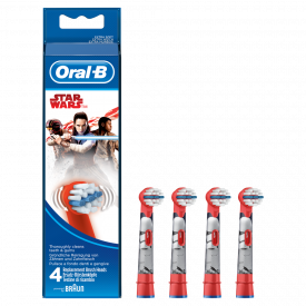 Oral-B Stages Toothbrush Heads x 4 - Star Wars