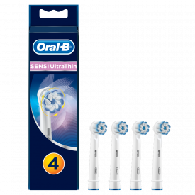 Oral-B Sensi Ultra Thin Replacement Toothbrush Heads - Pack of 4